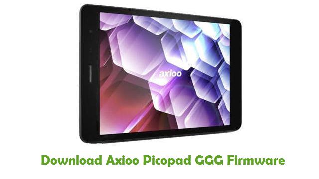 Axioo Picopad GGG Stock ROM