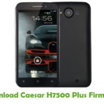 Caesar H7500 Plus Firmware