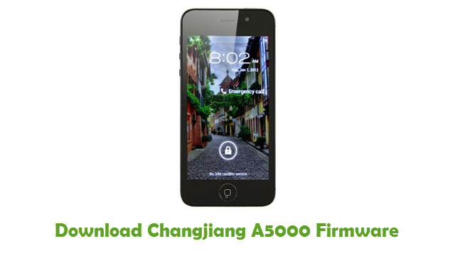 Changjiang A5000 Stock ROM