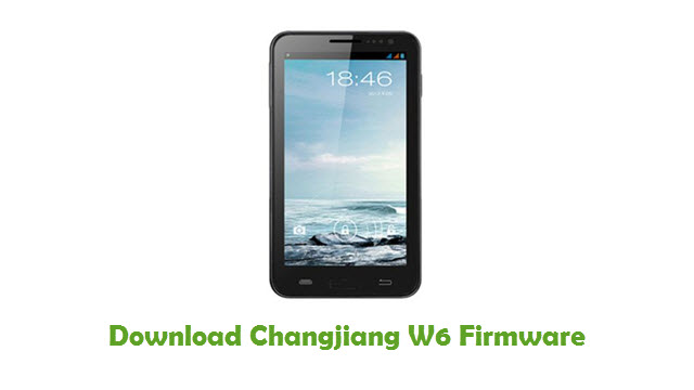 Changjiang W6 Stock ROM