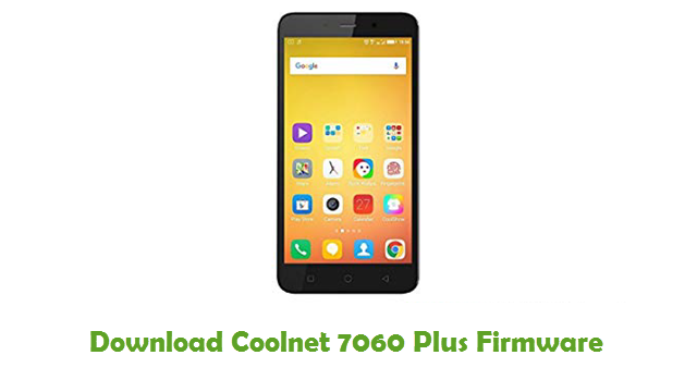 Download Coolnet 7060 Plus Stock ROM