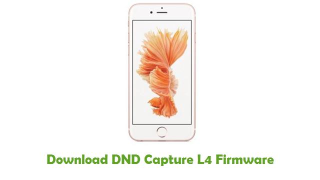 Download DND Capture L4 Firmware
