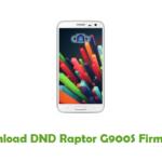 DND Raptor G900S Firmware