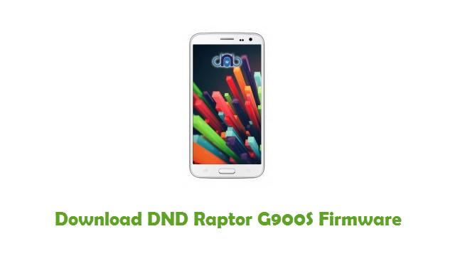 DND Raptor G900S Stock ROM