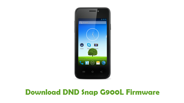 Download DND Snap G900L Firmware