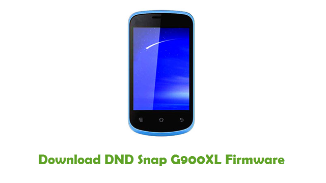 Download DND Snap G900XL Firmware
