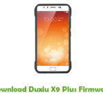 Duxiu X9 Plus Firmware