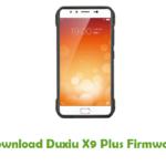 Duxiu X9 Plus Firmware