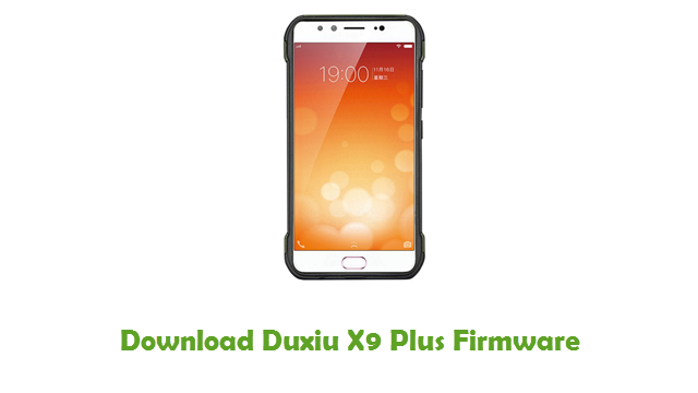 Download Duxiu X9 Plus Firmware