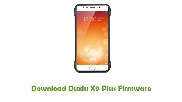 Duxiu X9 Plus Stock ROM