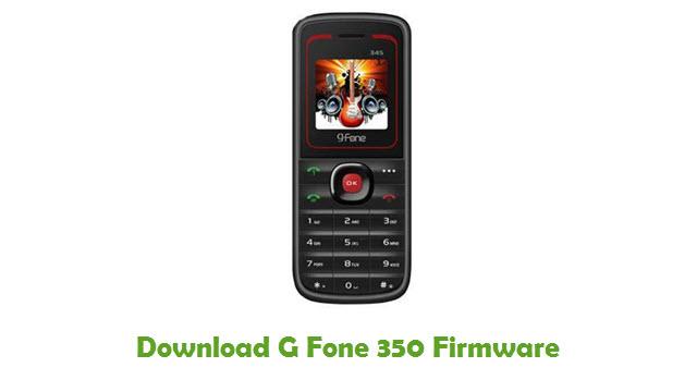 G Fone 350 Stock ROM