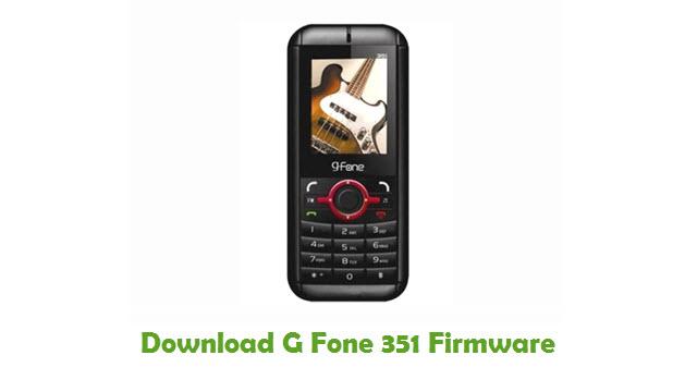 Download G Fone 351 USB Driver