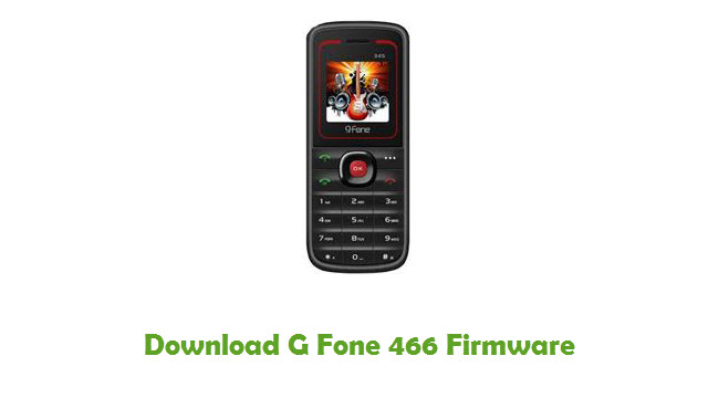 Download G Fone 466 Stock ROM