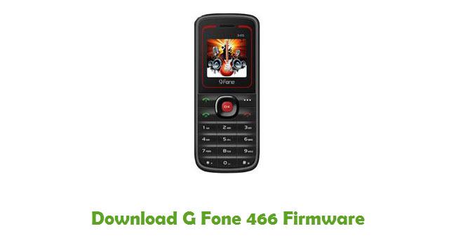 G Fone 466 Stock ROM