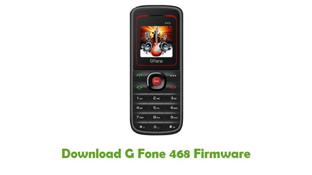 G Fone 468 Stock ROM