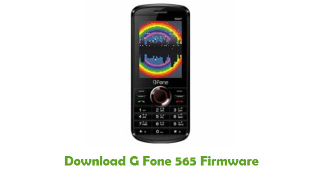 Download G Fone 565 Stock ROM