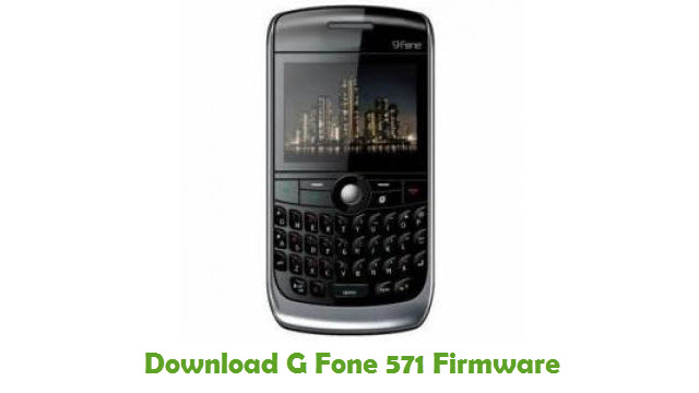 Download G Fone 571 Stock ROM