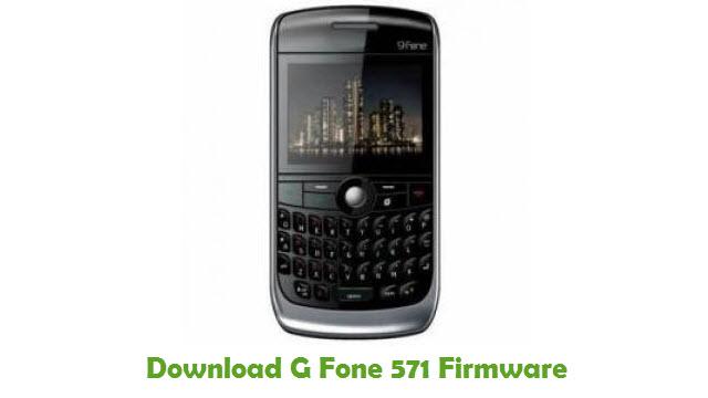 G Fone 571 Stock ROM