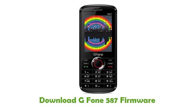 G Fone 587 Stock ROM