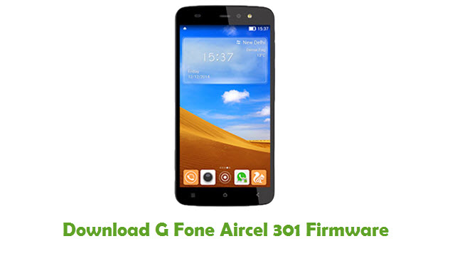 G Fone Aircel 301 Stock ROM