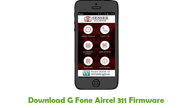 Download G Fone Aircel 311 Stock ROM