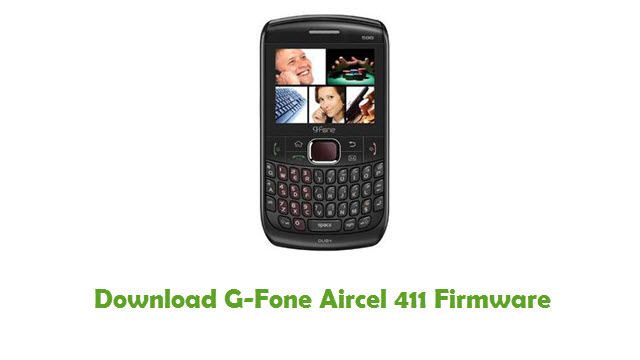 Download G-Fone Aircel 411 Stock ROM