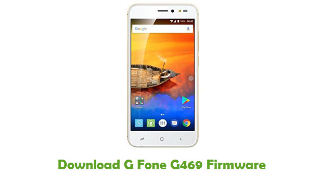Download G Fone G469 Stock ROM