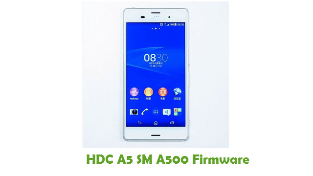 HDC A5 SM A500 Stock ROM