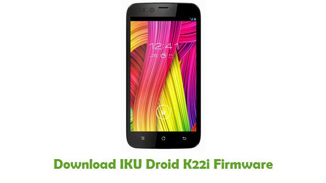IKU Droid K22i Stock ROM