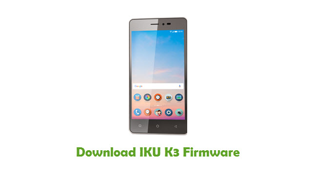 Download IKU K3 Stock ROM