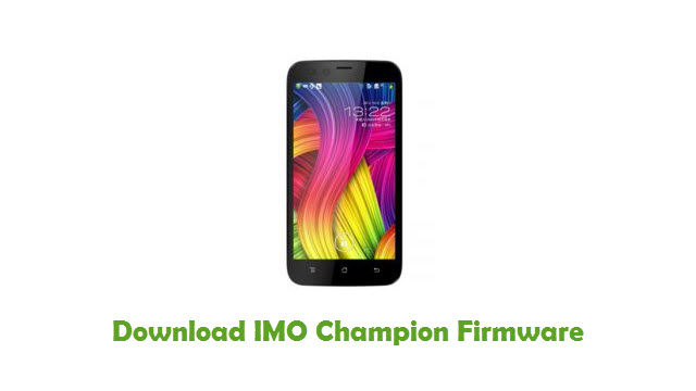 IMO Champion Stock ROM