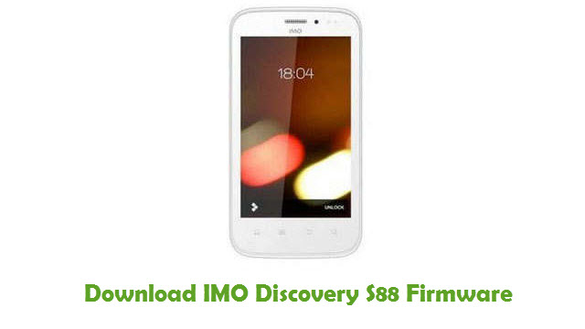 Download IMO Discovery S88 Stock ROM