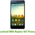 IMO Raptor S87 Firmware