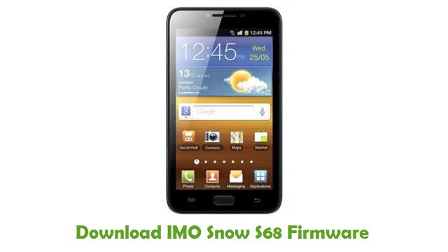 Download IMO Snow S68 Stock ROM