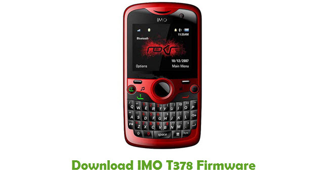 Download IMO T378 Stock ROM