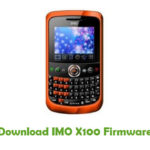 IMO X100 Firmware