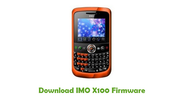 Download IMO X100 Stock ROM