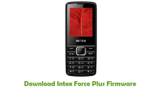 Intex Force Plus Stock ROM