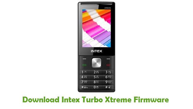 Intex Turbo Xtreme Stock ROM