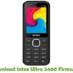 Intex Ultra 2400 Firmware