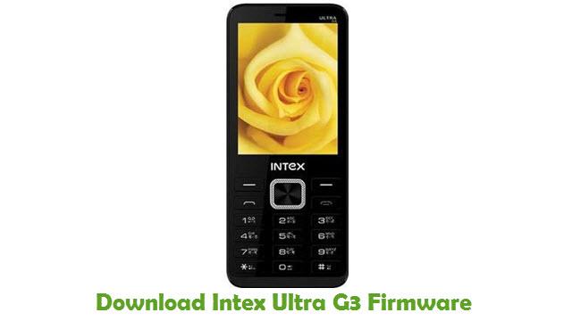 Download Intex Ultra G3 Firmware