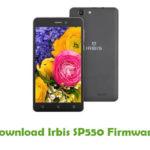 Irbis SP550 Firmware
