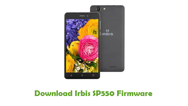 Download Irbis SP550 Stock ROM