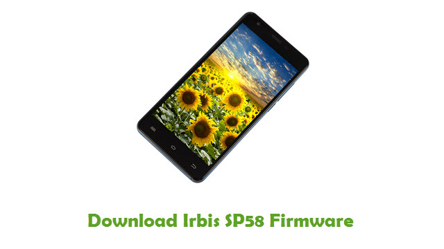 Irbis SP58 Stock ROM