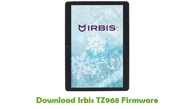 Download Irbis TZ968 Stock ROM