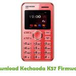 Kechaoda K57 Firmware