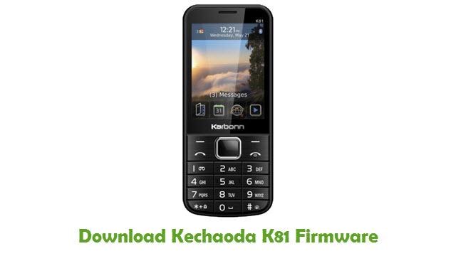 Download Kechaoda K81 Stock ROM