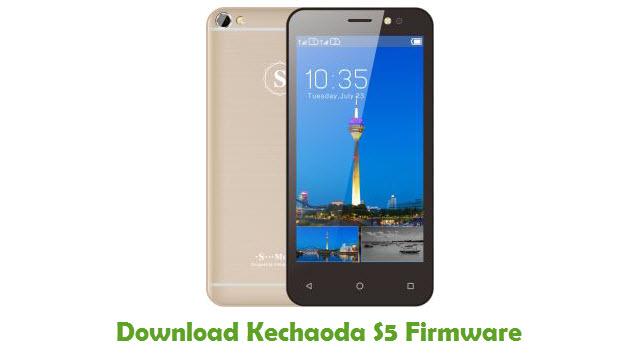 Kechaoda S5 Stock ROM