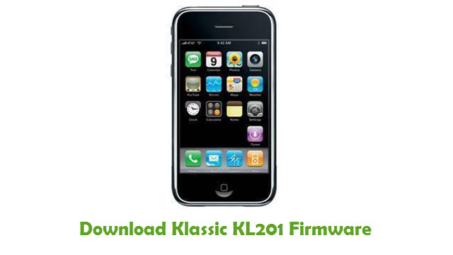 Klassic KL201 Stock ROM