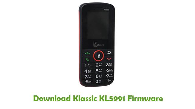 Klassic KL5991 Stock ROM